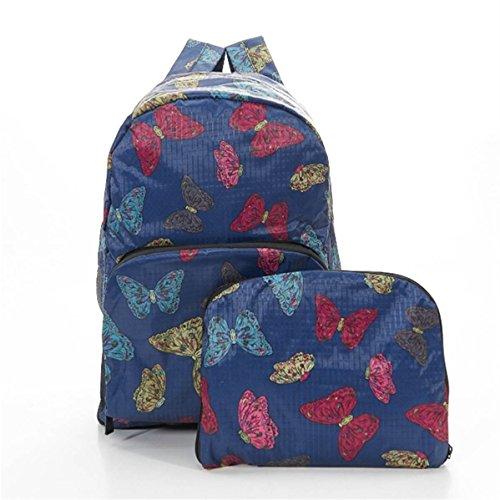 Eco Chic , Sac à main porté au dos pour femme bleu bleu marine Hand luggage
