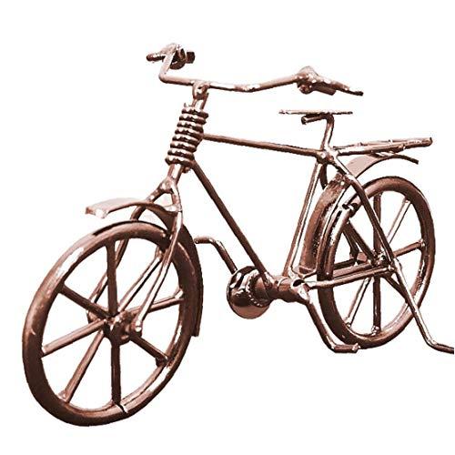 AMOYER Fahrrad-Modell Metall-Verzierungen Retro Craft Fahrrad Figurine Souvenir Geschenke Für Freunde Home Decoration