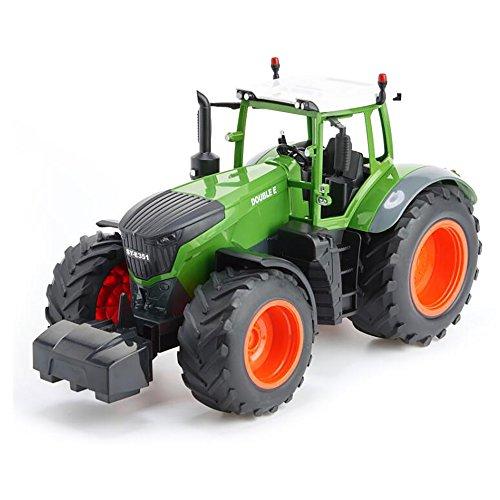 RC Traktor kaufen Traktor Bild 1: efaso E351-003 1:16 2,4 GHz RC Trecker mit Anhänger und Licht- und Soundeffekten - Komplett RTR*