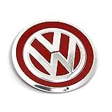 Original VW up! Beats Radzierkappe Nabenkappe Blende Abdeckung Kappe Radnabe chrom Tornadorot