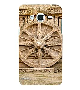 Wheel Of Konark 3D Hard Polycarbonate Designer Back Case Cover for Samsung Galaxy J3 (6) J320F :: Samsung Galaxy J3 (2016)