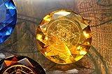 Tachyonen Diamant Metatron gelb 45 Energie Heilige Geometrie Jophiel 3. Chakra