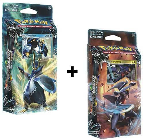 Pokemon Sun & Moon SM5 Ultra Prism Theme Decks EMPOLEAN & GARCHOMP