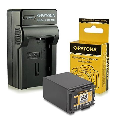 Chargeur + Batterie BP-828 / BP828 pour Canon Camcorder HF-G30