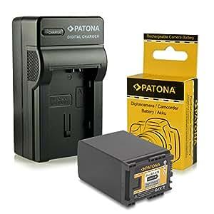 Chargeur + Batterie BP-828 / BP828 pour Canon Camcorder HF-G30 | XA20 | XA25 - LEGRIA HF-G10 | HF-G20 | HF-G25 | HF-G30 | HF-M30 | HF-M31 | HF-M32 | HF-M40 | HF-M41 | HF-M300 | HF-M301 | HF-M400 | HF-S10 | HF-S11 | HF-S1400 - [ Li-ion; 2670mAh ; 7.4V ]