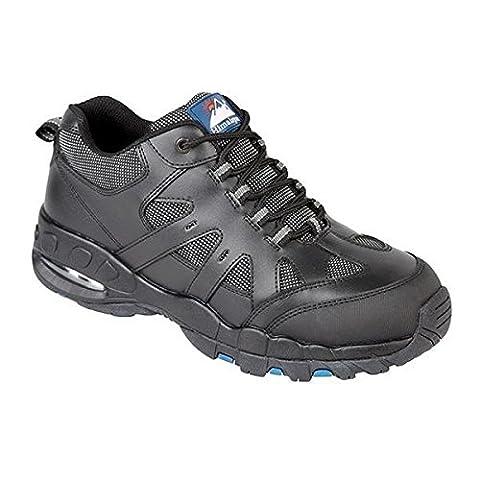 L'Himalaya 4041–6.0bulles d'air Trainer Chaussures de sécurité, taille 6, noir