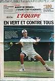 EQUIPE (L') [No 17909] du 02/07/2003 - RUGBY - LE CAS POITRENAUD L'ETUDE - FOOT - ALBERT DE MONACO - LE TOUR DE FRANCE - JUAN CARLOS FERRERO - S. GROSJEAN A WIMBLEDON.