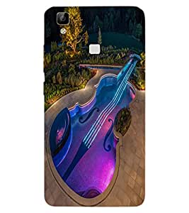 ColourCraft Creative Image Design Back Case Cover for VIVO V3 MAX