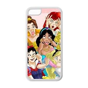 Cartoon Zombie Princess TPU Back Case / Coque Princesse Zombi pour iPhone 5c