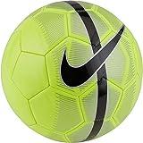 Nike Mercurial Fade Ball Fußball, Volt/Metallic Silver/Black, 5