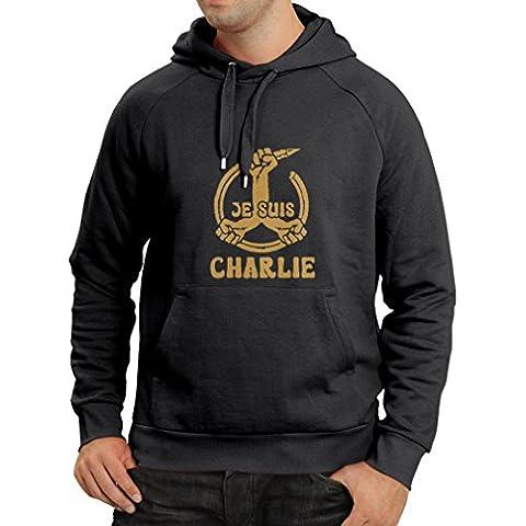 N4148H sudadera con capucha 148 JE SUIS CHARLIE HEBDO Paris France Terror Attack Protest
