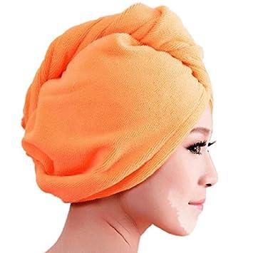 mikrofaser haar turban haare trocknen duschhauben haarpunzel