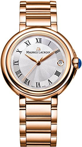 Maurice Lacroix Fiaba Round FA1004-PVP06-110-1 Damenarmbanduhr Sehr Elegant