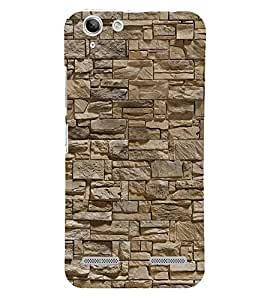 Stylish Rock Arrangement 3D Hard Polycarbonate Designer Back Case Cover for Lenovo Vibe K5 Plus :: Lenovo Vibe K5+