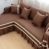 Cooper Anti-rutsch staubdicht Sofabezug,Alle inklusive Wasserdichte Tuch Sofa-Überwürfe Volle Deckung Stoff Sofa slipcover Couch-Abdeckung -C 190x260cm(75x102inch)