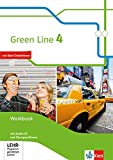 Green Line 4: Workbook mit Audio-CD und Übungssoftware Klasse 8 (Green Line. Bundesausgabe ab 2014)