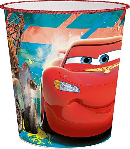 "Joy Toy 72238 Abfalleimer ""Disney Cars"" aus Kunststoff"