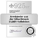 SilberDream Armband Panzer flach 925 Sterling Silber-Armband Unisex 21cm SDA2411J - 2