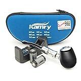 Kamry K1000 E-Pipe Classique Style électronique Shisha Starter Kit Complet Avec étui, 2PCS 900mAh Batteries Grand Vapour Ecig, 510 / EGO Atomiseur de fil Libre Nicotine (Noir)