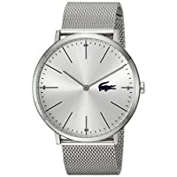Lacoste Men's Analog Quartz Watch with Stainless-Steel Strap 2010901