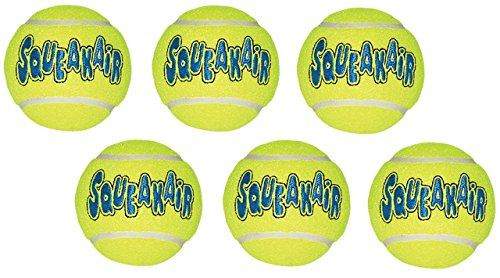 Kong Company Med Tennis Ball (Pack von 6Bälle)
