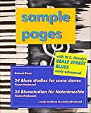 24 Blues Studies For Score Slaves - five sample pages: 24 Bluesstudien für Notenknechte - fünf Beispielseiten (English Edition)