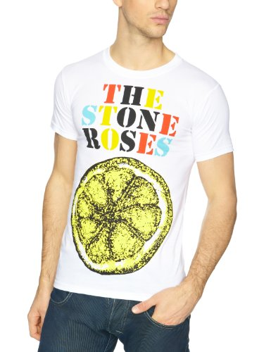 The Stone Roses Logo Lemon Multicolour Men's T-Shirt