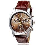 Omiky® 2017 Neue Luxuxart und weisekrokodil-Faux-Leder-Männer analoge Uhr-Uhren