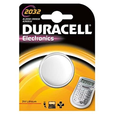 2 X Duracell CR 2032 Lithium Batterie, CR2032, 3 Volt