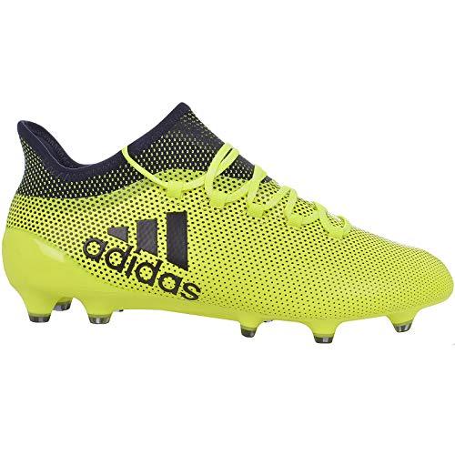 buy popular d415a 6b3d9 adidas X 17.1 FG, Botas de fútbol para Hombre, Amarillo (Amasol Tinley)