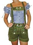 MS-Trachten Damen Trachten Lederhose grün 38
