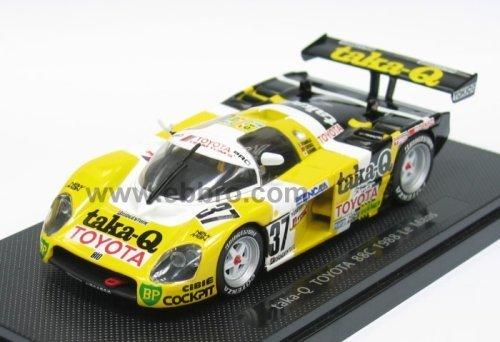 Ebbro 1/43 88C de Taka-Q Toyota Tom Mans 1988 # 37 jaune / noir (import japon)
