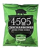 4505 carni - Chicharrones di maiale fritto cotenne jalapeno Cheddar - 1 Oncia