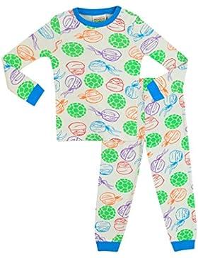 Teenage Mutant Ninja Turtles - Pijama para Niños - Las Tortugas Ninja - Ajuste ceñido