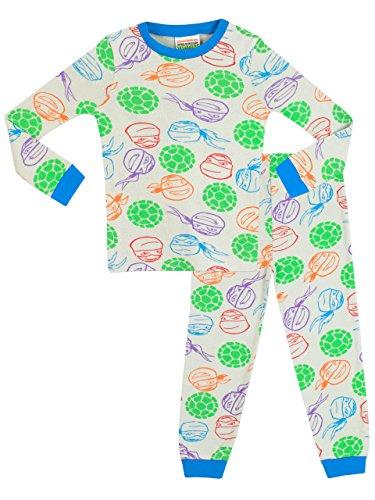 Teenage Mutant Ninja Turtles Jungen Ninja Turtles Schlafanzug - Slim Fit - (Schlafanzug Ninja Mutant Teenage Turtles)