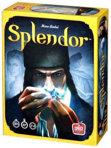 Space Cowboys ASMSCSPL01US Splendor Board Game