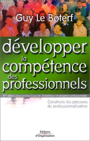 Développer la compétence des professionnels. 4ème édition