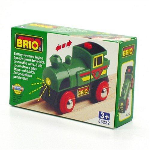 Imagen principal de Brio 33222 - Locomotora Speedy Green a pilas