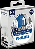 Philips WhiteVision Xenon-Effekt H7 Scheinwerferlampe 12972WHVSM, Doppelset