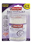 The Doctors Brushpicks Interdental Toothpicks - 275 Ea ( Pack of 4 )