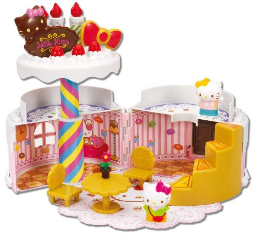 Hello Kitty Sweets world collection birthday cake House (japan import) - Hello Kitty Birthday Giochi
