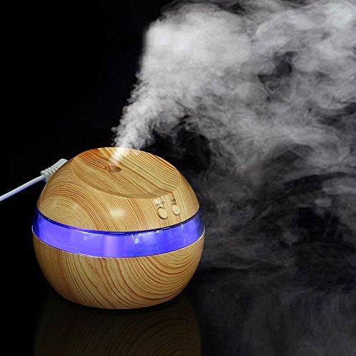Luftaroma ätherisches Öl Diffusor LED Ultraschall Aroma Aromatherapie Luftbefeuchter