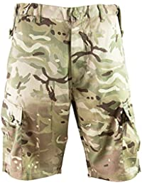 Highlander Outdoor Products HMTC British Army Military Camo Combat Cargo Shorts Pants Trousers MPC