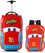Car Kid's Travel Luggage suitcase Childred Trolley Case Cartoon Rolling Bag for School Kids Trolley Bag on wheels Boarding Bo
