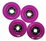 Koston Profi Blank Longboard Wheels Lila 97x52mm/78A - Rollen Set - Wheel Set (4 Rollen)