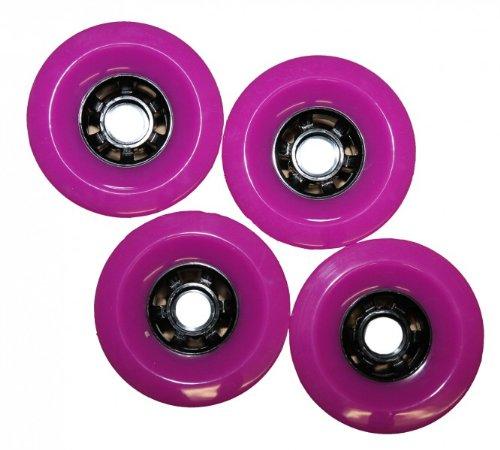Koston Profi Blank Longboard Wheels Lila 97x52mm / 78A - Rollen Set - Wheel Set (4 Rollen) -