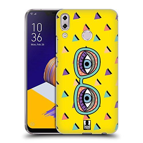 (Head Case Designs Augen Cartoon Pop Trends Ruckseite Hülle für ASUS Zenfone 5z ZS620KL/5 ZE620KL)