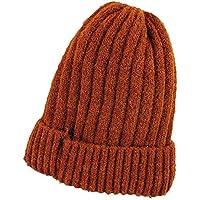 Gorros Gorro De Sombreros Gorras Calentar Cálido Unisex Beanie Gorro De Protección para Las Orejas De Invierno Más Terciopelo Salvaje para Mujer ZHANGGUOHUA (Color : Caramel Colour)