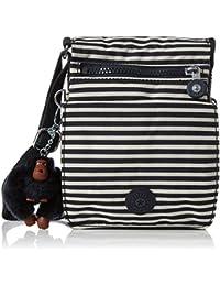 Kipling Women'Smessenger Bag Multicolour Multicoloured - Navy Blue, Stripy One Size