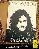 Geburtstagskarte–Happy Birthday Ya Bastard (